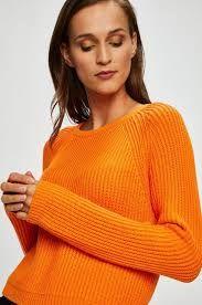 pomarańczowy sweter Tally Weijl L, M sweterek