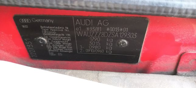 Ауди а4б5 1.9 TDI