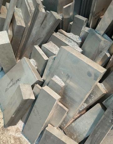 Заготовки дюраль плиты бруски блины Д16 2024 Д16т Алюминий АМг5(6)