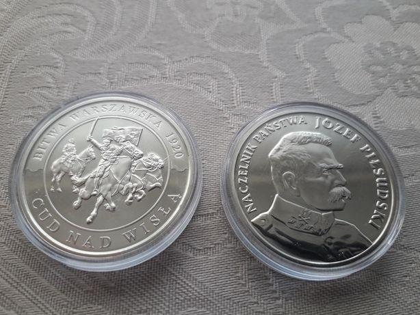 Dwa numizmaty