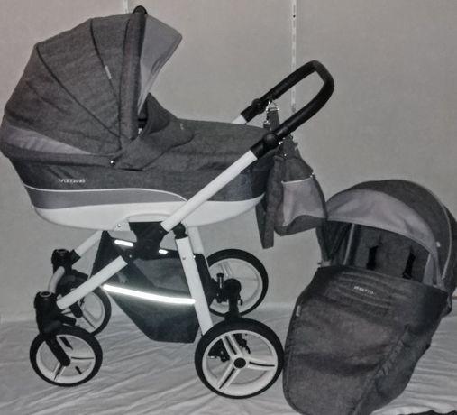 Nowoczesny wózek Bebetto Vulcano 2w1 lub 3w1 w bardzo dobrym stanie.