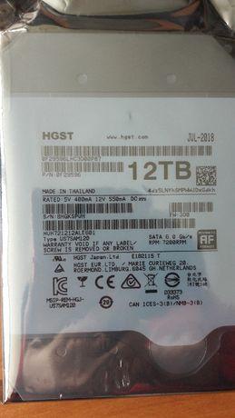Продам ЖЕСТКИЙ ДИСК (винчестер) 12TB (терабайт) новый