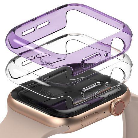 Capa Smartwatch Ringke Apple 40Mm / Watch 5 40Mm / Watch 4 40Mm / Watch Se 40Mm - Transparente / Violeta