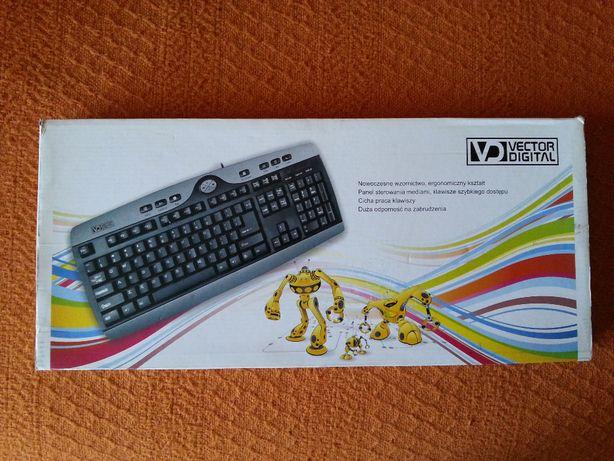 Klawiatura do komputera Vector Digital,podkładka pod mysz.