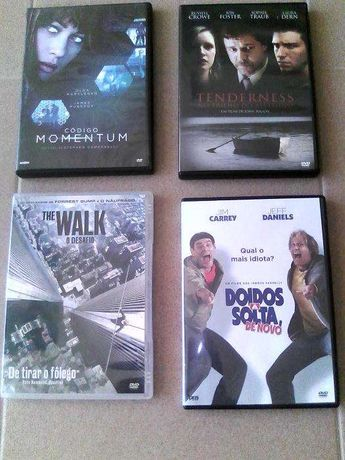 lote de dvd's impecáveis