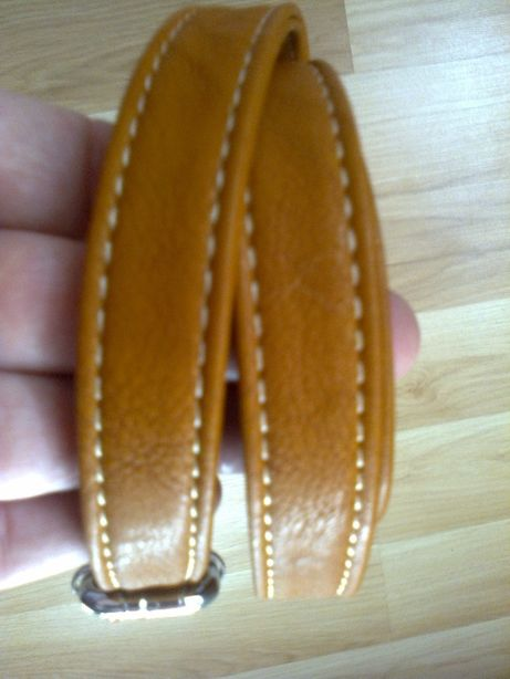 NOWY brązowy pasek do torebki 110|1,8 cm.