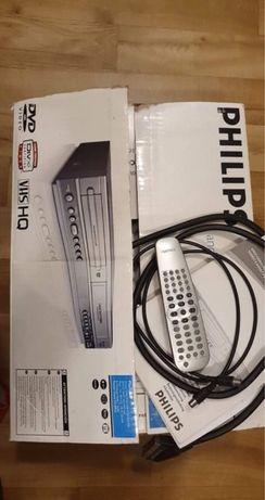Philips Combo DVD+VCR  odtwarzacz płyt DVD + video