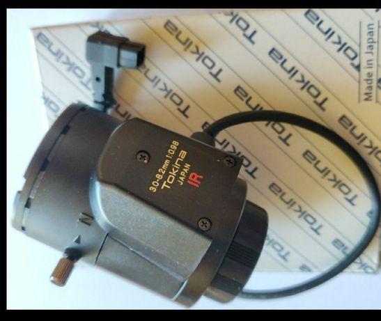 Obiektyw do kamer  ip megapikselowych Tokina 3.0-8.2mm 1:098 IR Japan