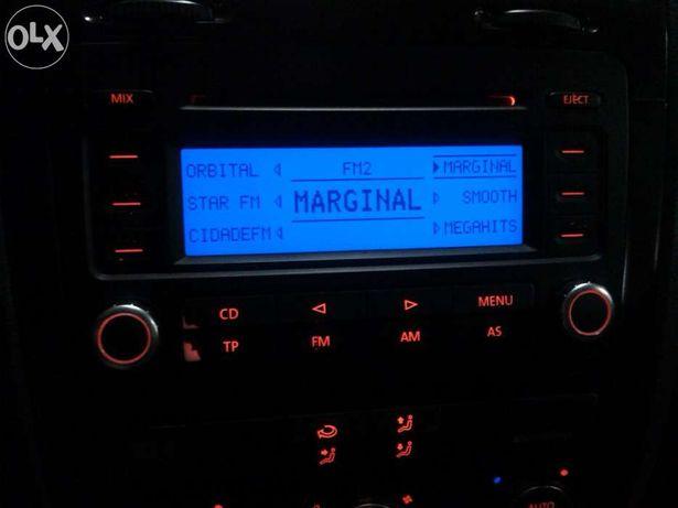 VW golf, caddy, bora, radio rcd 300 original