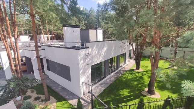 Продается дом 150 кв.м. в Рожевке, стиль хай-тек, в сосновом лесу!