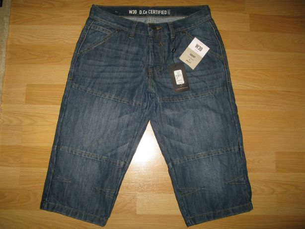 Новые джинсовые шорты Denim на подростка , р 30