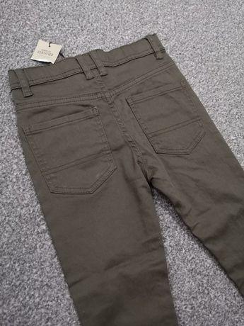 Spodnie PRIMARK Skinny Jeans 116 khaki