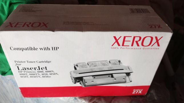 Toner Xerox laserJet 27x novo