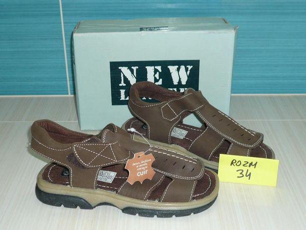 Sandałki sandały chłopięce roz.34 New Lander Nowe!