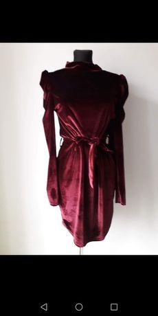Nowa piękna sukienka welur