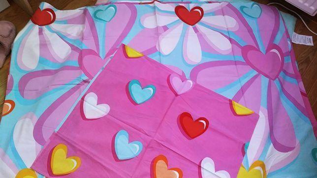 Pościel dla dziewczynki 160x200 100% bawełna