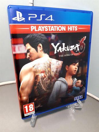 Jogo Yakuza 6: The Song of Life para a PlayStation 4/PS4 (Sega, 2018)