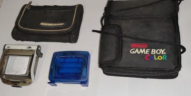 Acessórios para Game boy color e Gameboy advance da nintendo