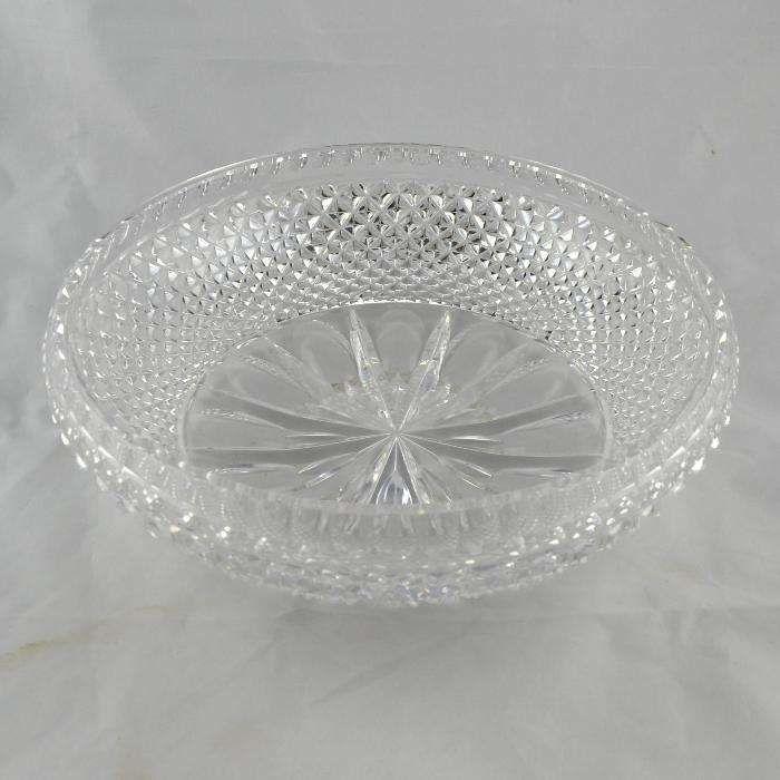 Taça em Cristal Lapidado - Vintage