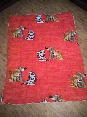 Одеяло и подушка детское теплое 500 руб