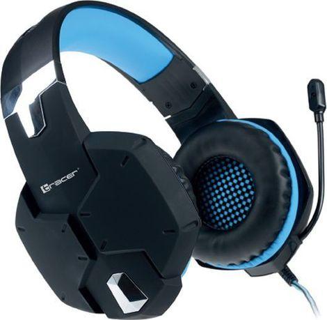 Słuchawki TRACER Dragon Czarno-niebieskie