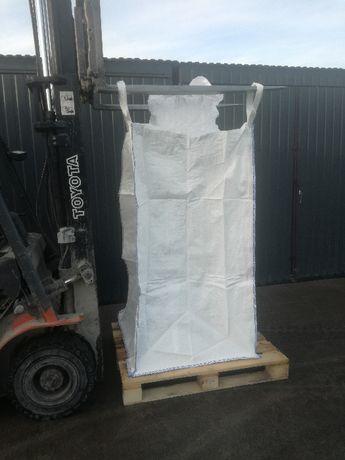 Worki Big Bag Używane 180cm na Granulat Czyste Białe hurt !