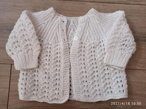 Biały sweterek 56/62