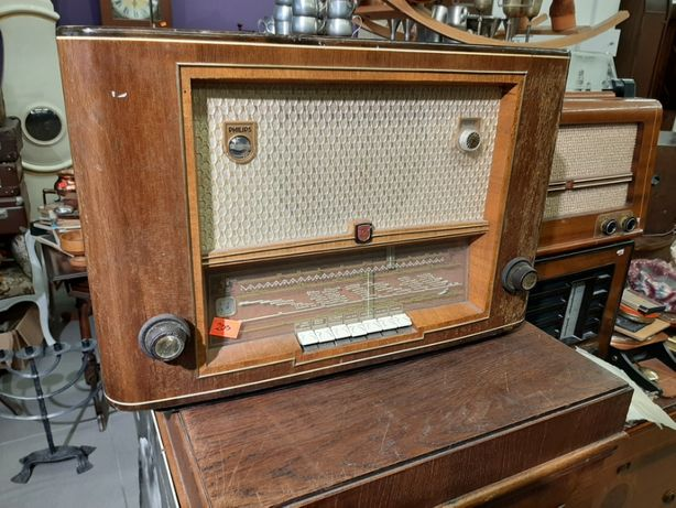 Stare radio lampowe Philips typ 633A