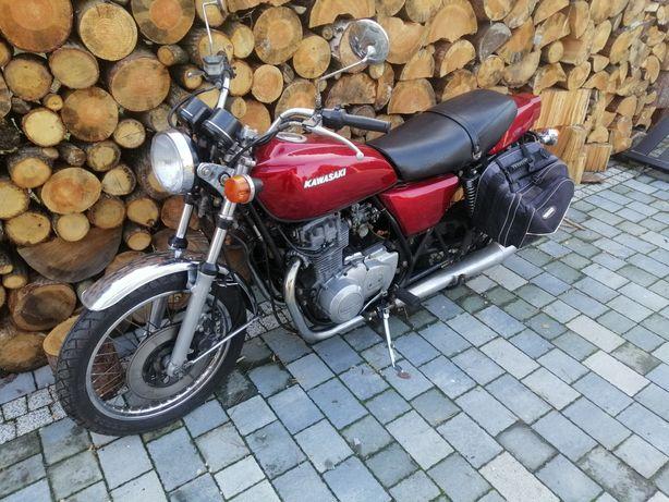 Kawasaki 440 Kz400b kz 400 rama PL części silnik gaźnik lampa zegary