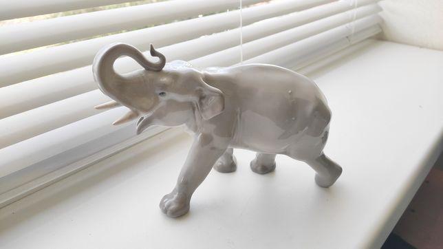 Слон Лфз фарфор, статуэтка