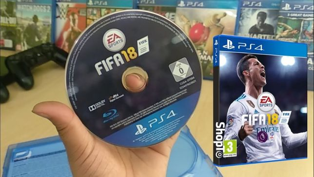Fifa 18, 2018 Playstation 4, PS4, jak nowa okazja Fifa 2018 EA Games