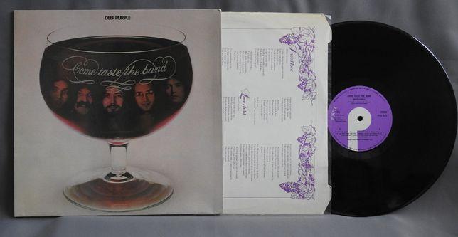 DEEP PURPLE Come Taste the Band LP Британская пластинка 1975 UK