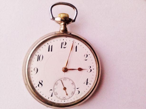 Zegarek kieszonkowy sprawny marki JUNGHAS na 15 rubinach