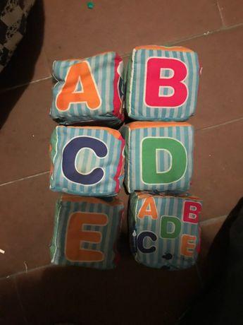 conjunto cubos pano imaginarium