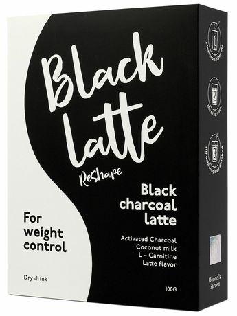 Black  latte- кофе для похудения