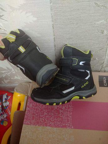 Зимові термо чоботи 33 розмір