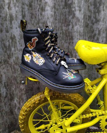 Крутые ботинки Dr.martens Patch J Оригинал!