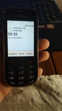 Нокиа Asha 202 Сенсорный телефон.