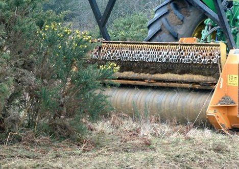 Rekultywacja terenu Mulczer leśny Karczowanie Czyszczenie Działek