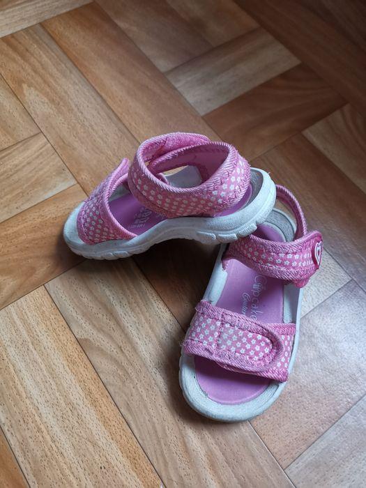 Sandałki dla dziewczynki Rędziny - image 1