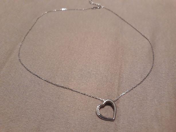 Naszyjnik 46 cm, srebro 925