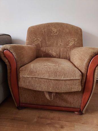Dwa fotele z pojemnikiem