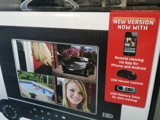 BDeye ESP , DVR de 4ch , videoporteiro, 4 camaras -500Gb disco