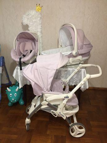 Детская коляска Cam Fluido 3 в 1, Италия
