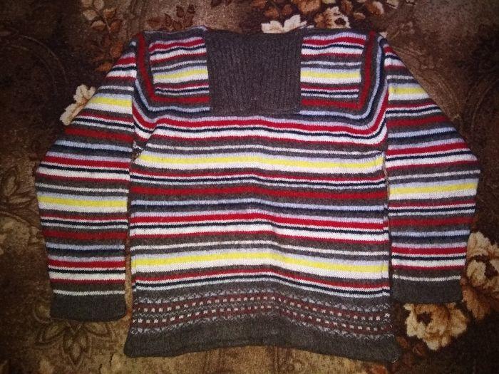 Отдам свитер оочень теплый Вишневое - изображение 1