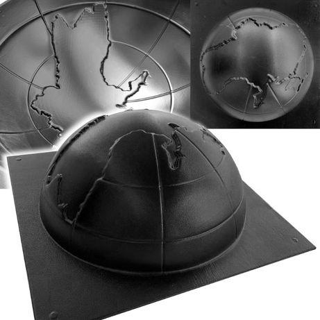 АБС форма парковочной полусферы с контуром Украины 435*190 мм