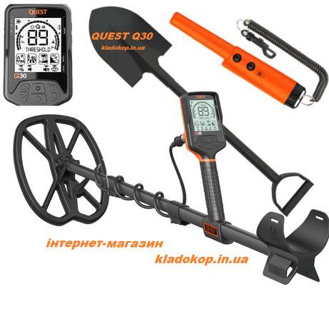 Quest Q30 пинпоинтер и лопата в подарок