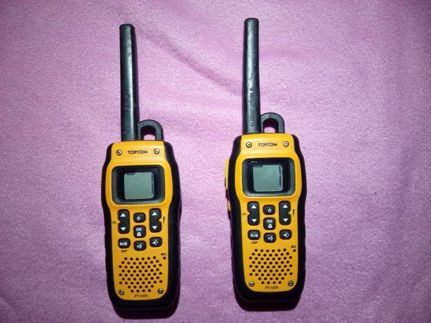 Водозащищенные рации Topcom Protalker PT1078