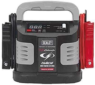 Sealey SHY900S 900A 12V Hybrid Ultra Capacitor Jump Starter