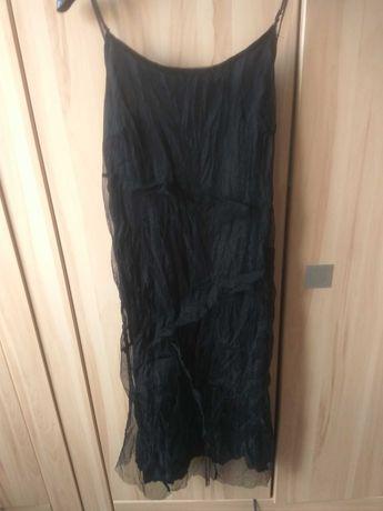 Sukienka czarna z podszewką rozm S